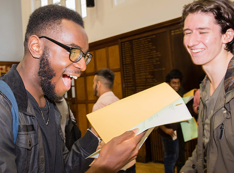 """""""Stellar"""" performance: QE boys produce top results amid major changes to A-levels nationally"""