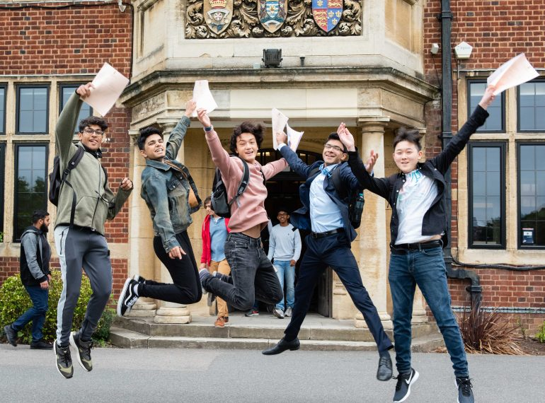 Breaking the 75% barrier: more than three-quarters of GCSEs awarded top grade