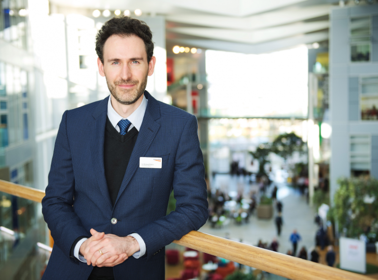 Music-lover and movie-maker Richard rises to become Chief Medical Officer at Network Rail