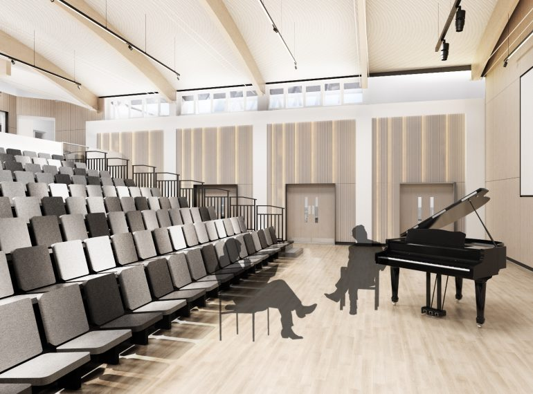 The sound of success: Music School receives go-ahead
