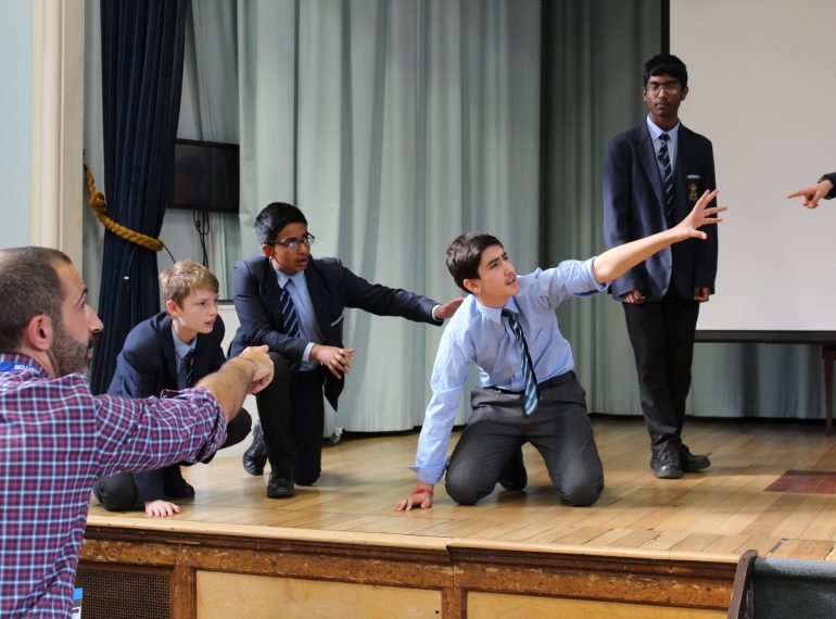 Drama at QE: back with a vengeance