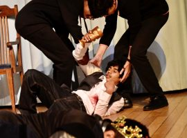 Hamlet in the house: boys treasure opportunity to enjoy live drama during lockdown