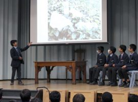 Focus on public speaking in photography competition that gives QE's youngest boys a chance to be heard