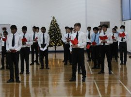Musicians lift spirits with Christmas sound and vision