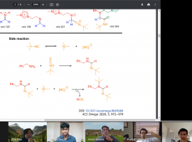 """Success in """"welcome distraction"""" of online Cambridge Chemistry Race"""