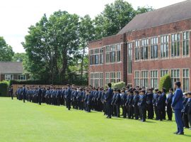 Cherishing our traditions: QE's youngest pupils find out about Founder's Day in special event