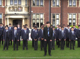 """""""It's the big day; it's Founder's Day!"""" – the QE community gathered online to celebrate an illustrious past and look forward to a bright future"""