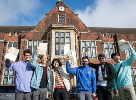 Bright and exciting futures beckon for QE's pandemic-era A-level students