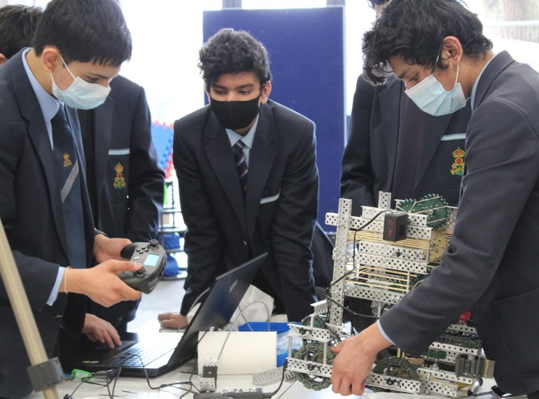 Meet the innovators: QE pupils excel in technology competitions